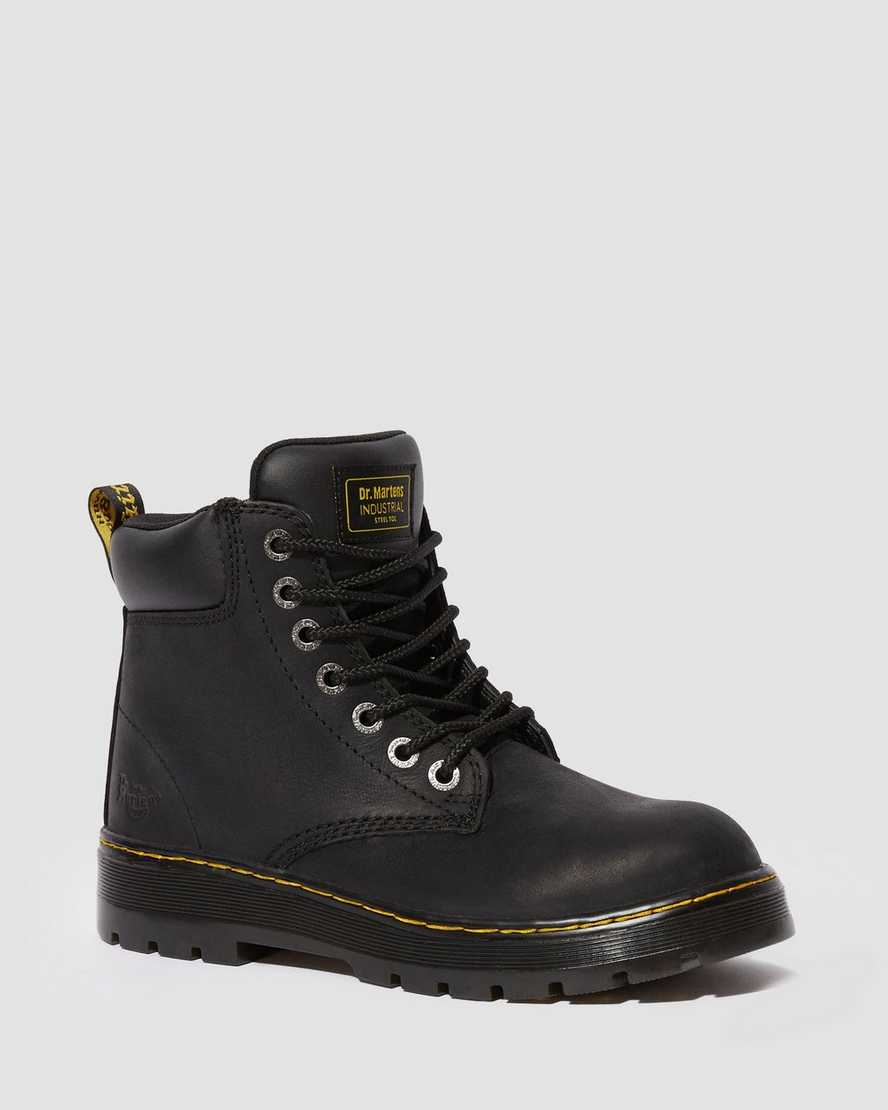 ea0185b5401 DR MARTENS WINCH STEEL TOE