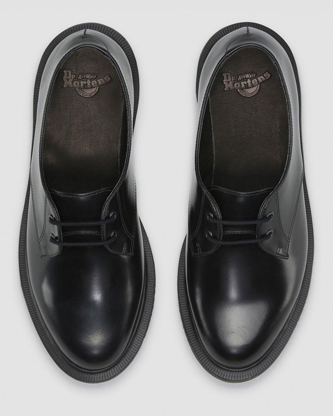 Dr. Martens Brook Polished Smooth Black,