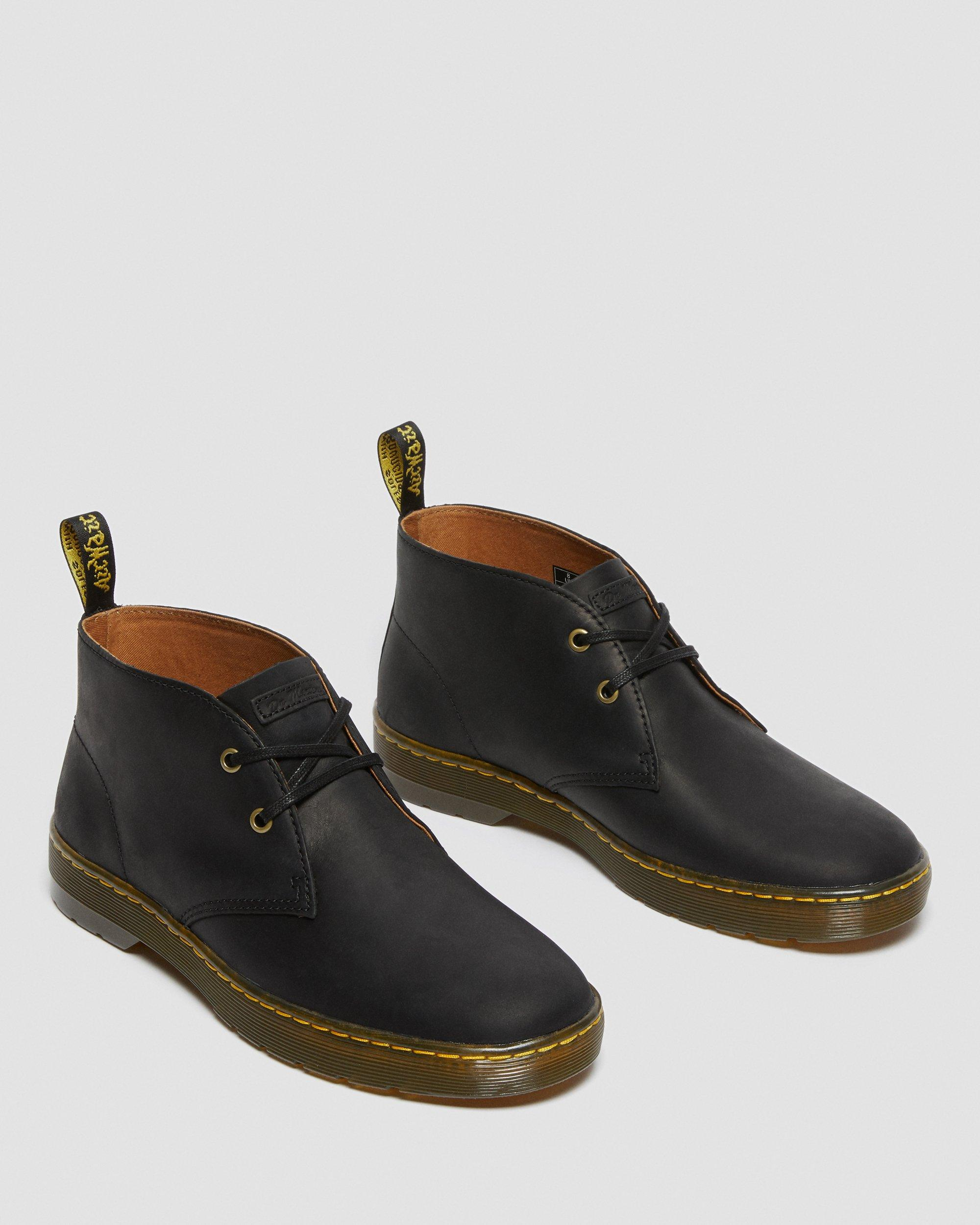DR MARTENS CABRILLO MEN'S WYOMING LEATHER DESERT BOOTS
