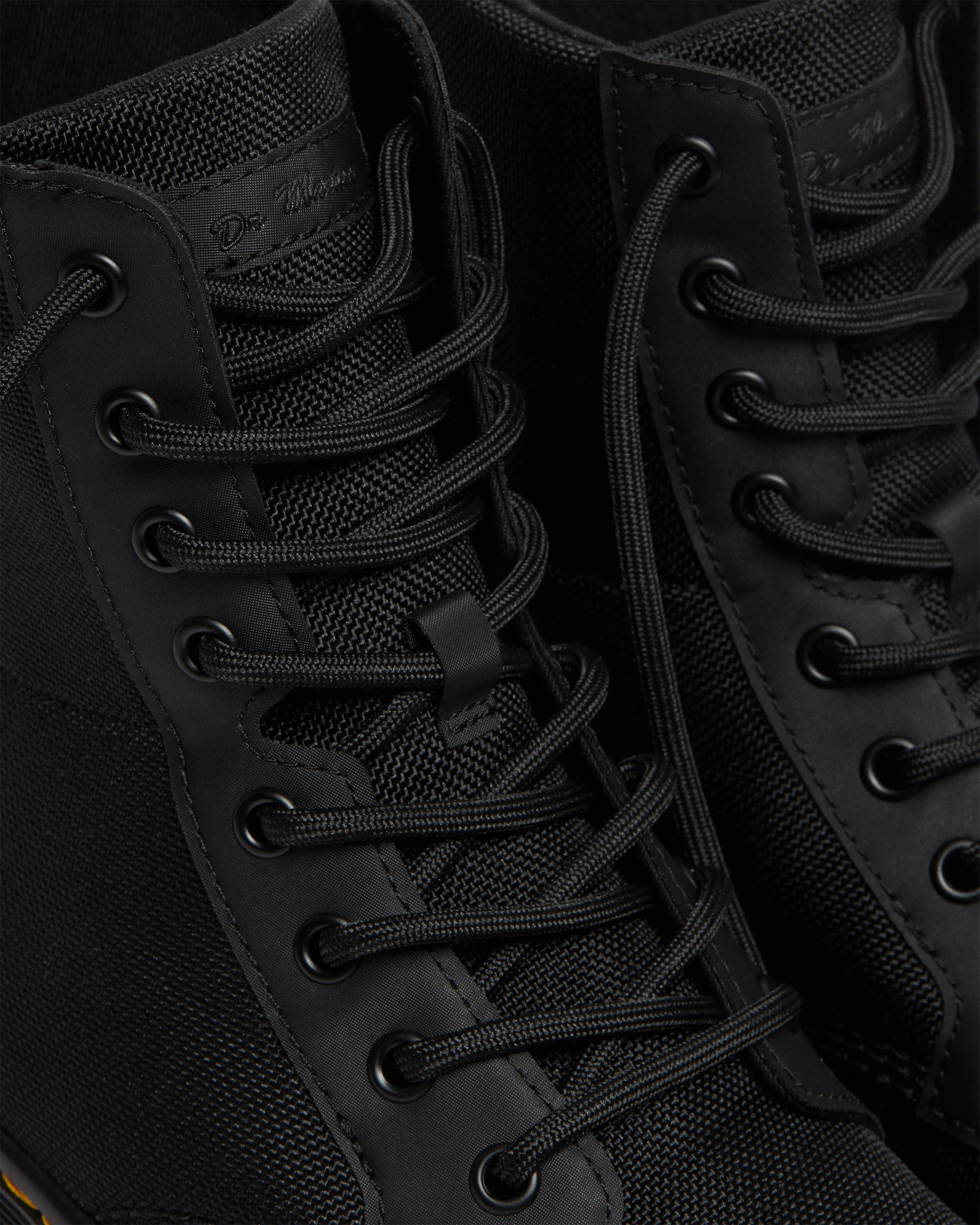 Dr. Martens Combs Tract Boots Black Extra Tough Nylon