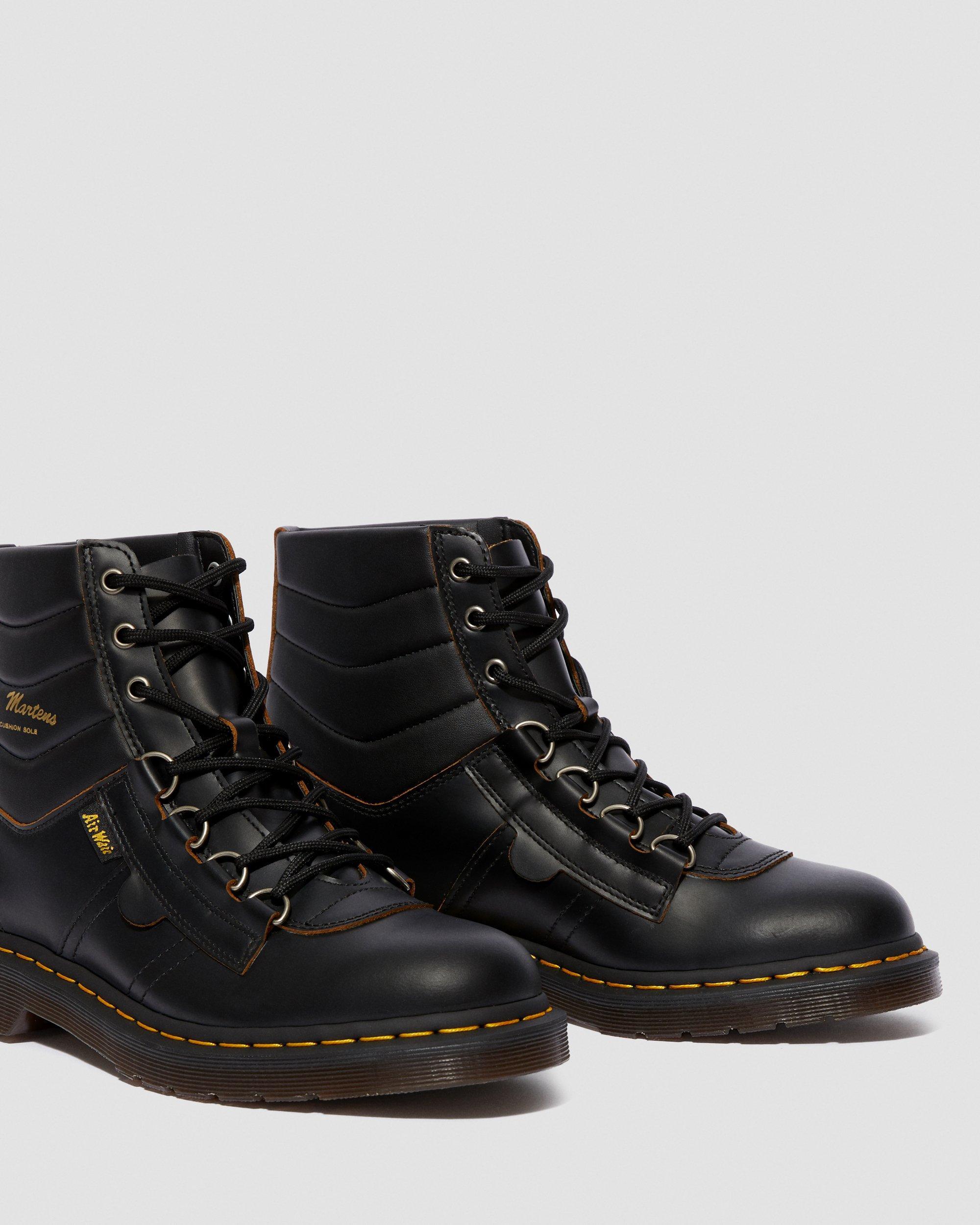 merktekens van leren laarzen