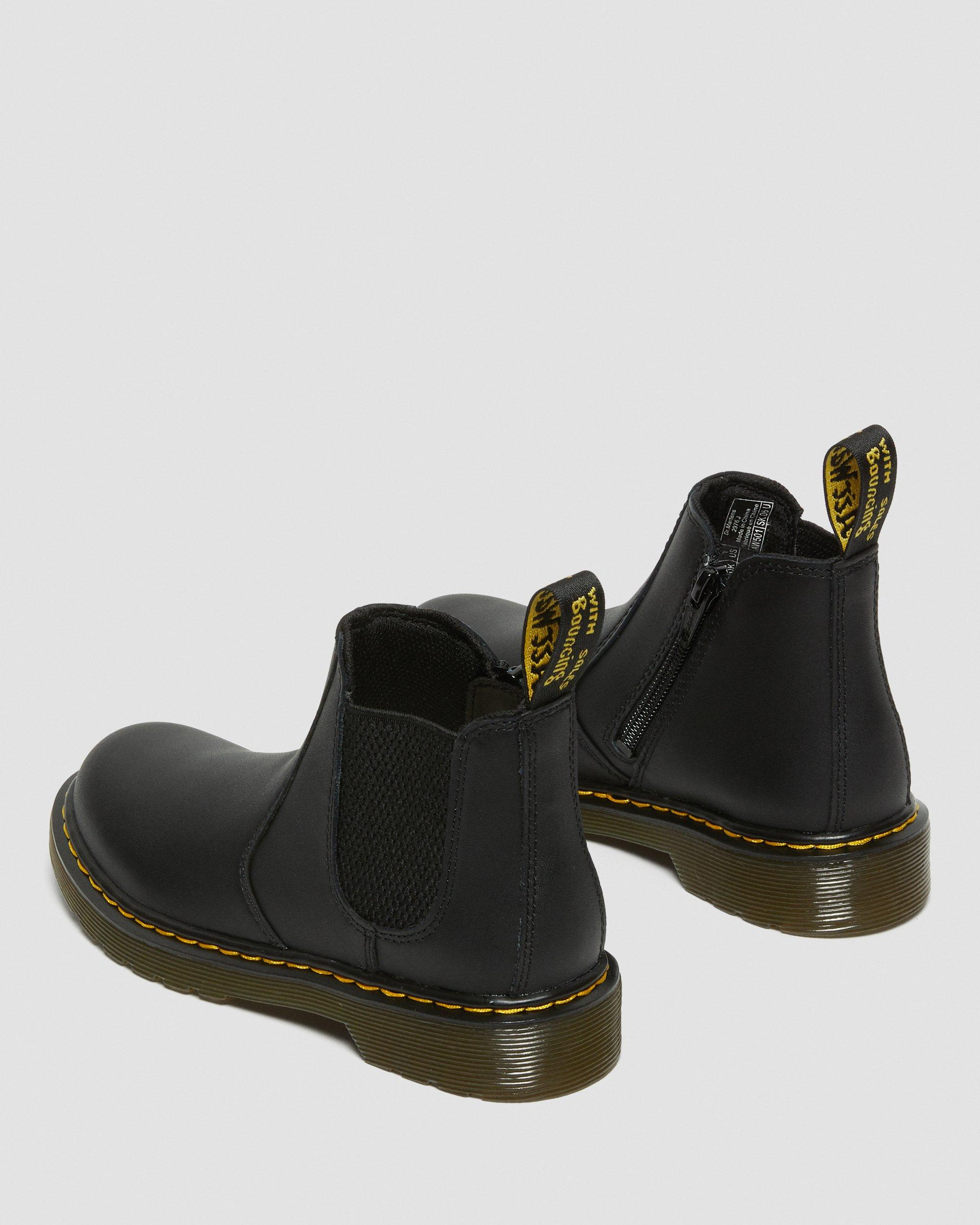 2976 JUNIOR LEATHER CHELSEA BOOTS | Dr