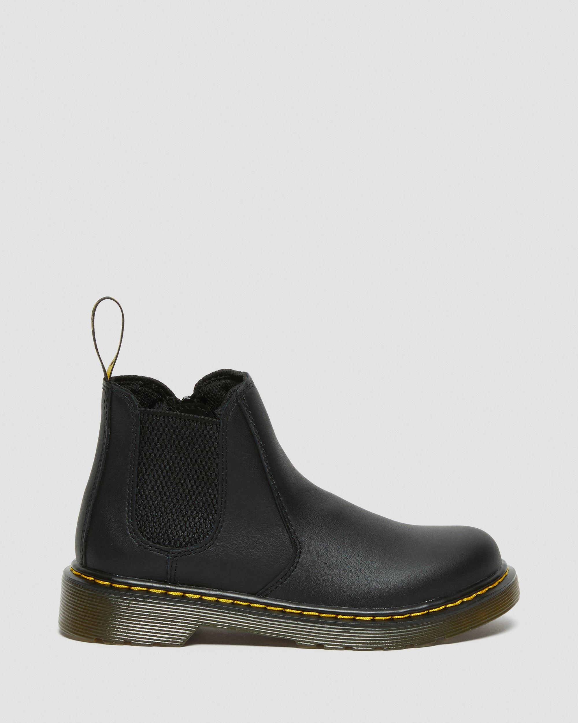 2976 JUNIOR LEATHER CHELSEA BOOTS   Dr