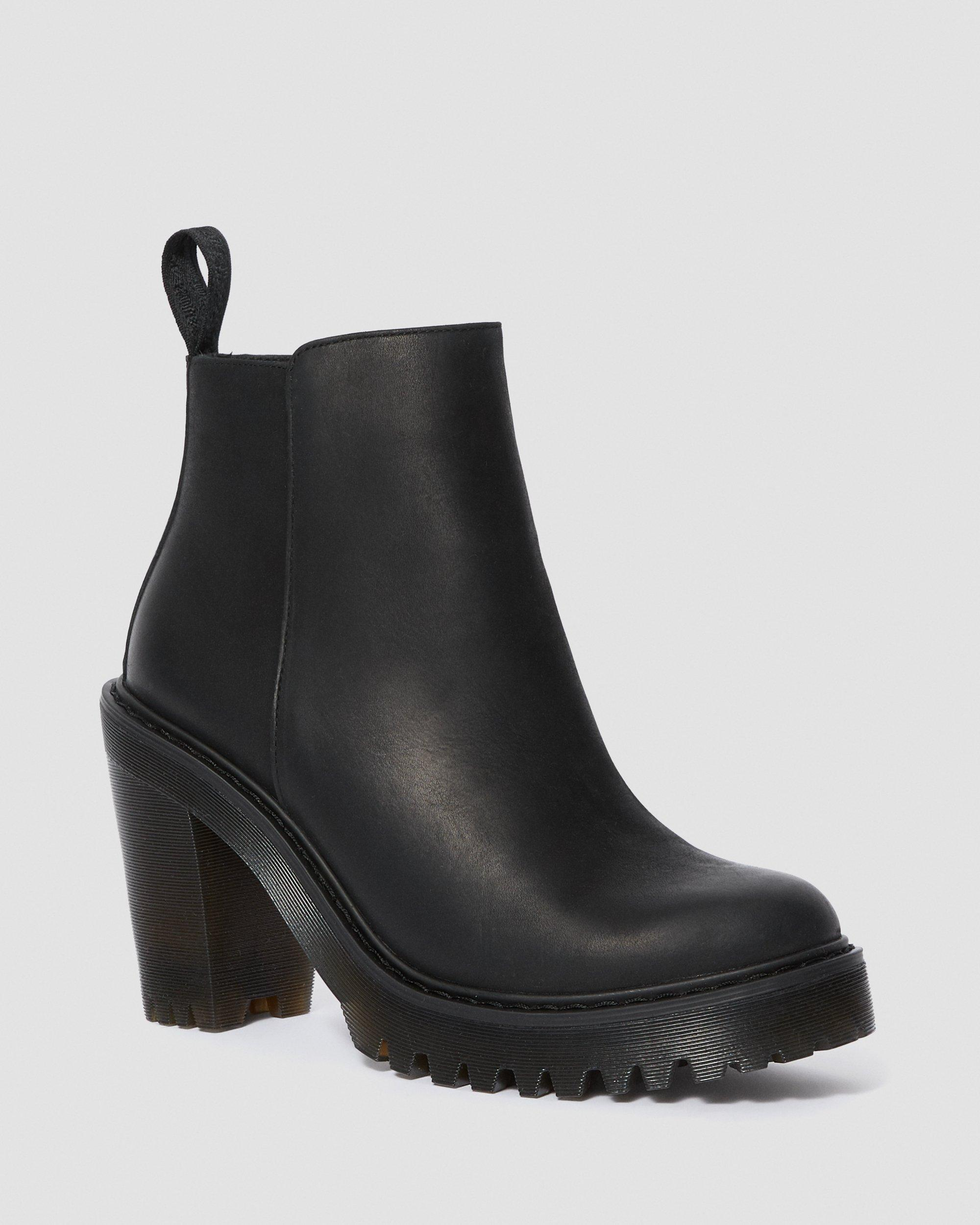 MAGDALENA WOMEN'S LEATHER HEELED