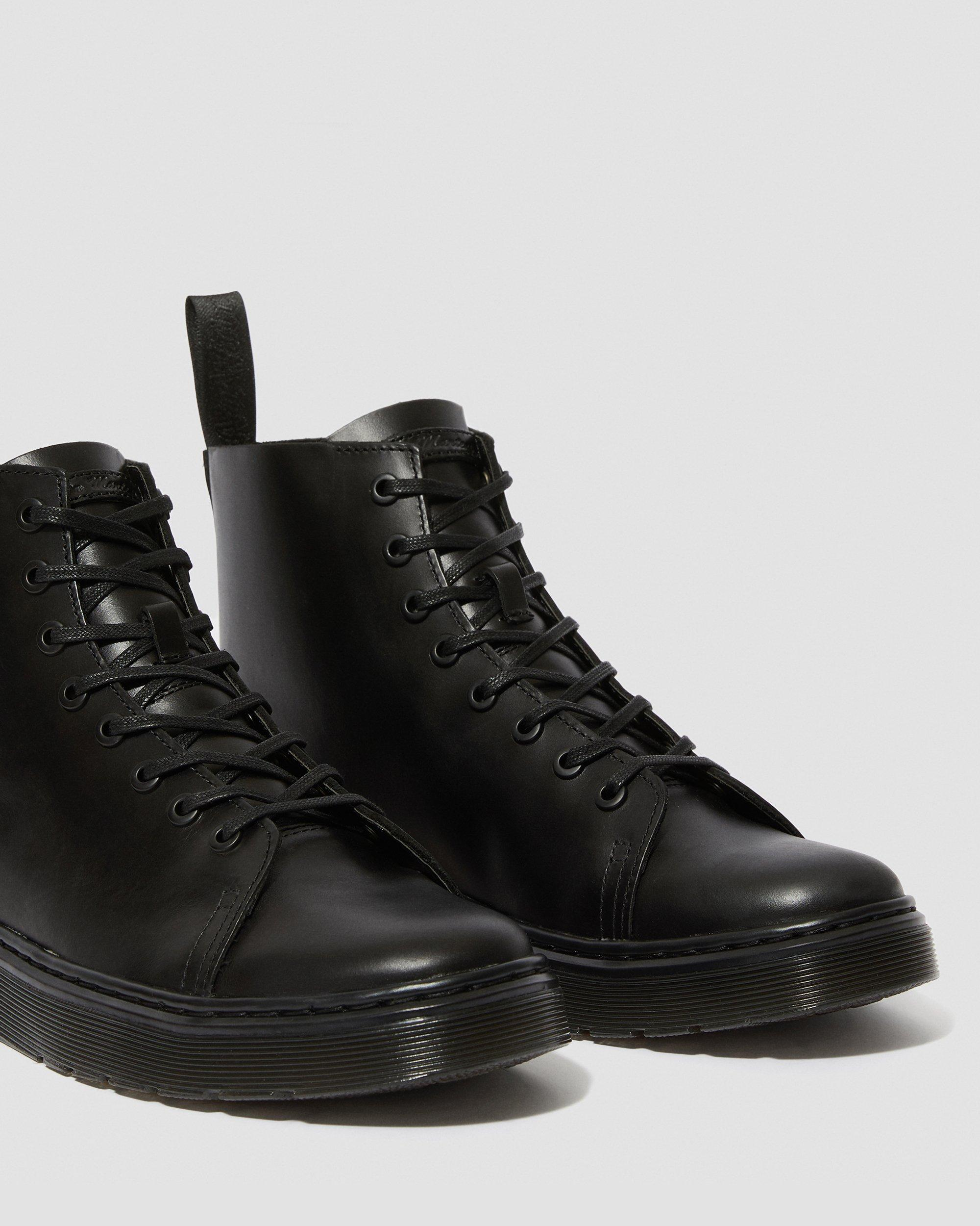 TALIB LEATHER LACE UP BOOTS | Dr