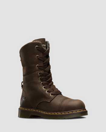 DARK BROWN   Boots   Dr. Martens
