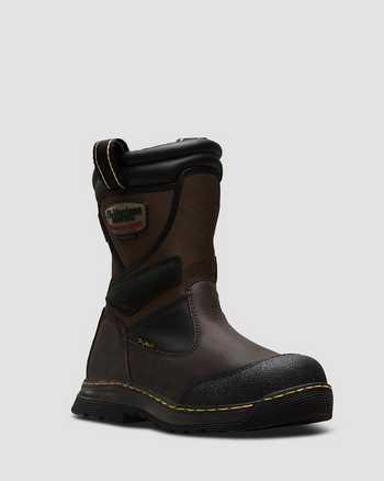 GAUCHO+DARK BROWN | Boots | Dr. Martens