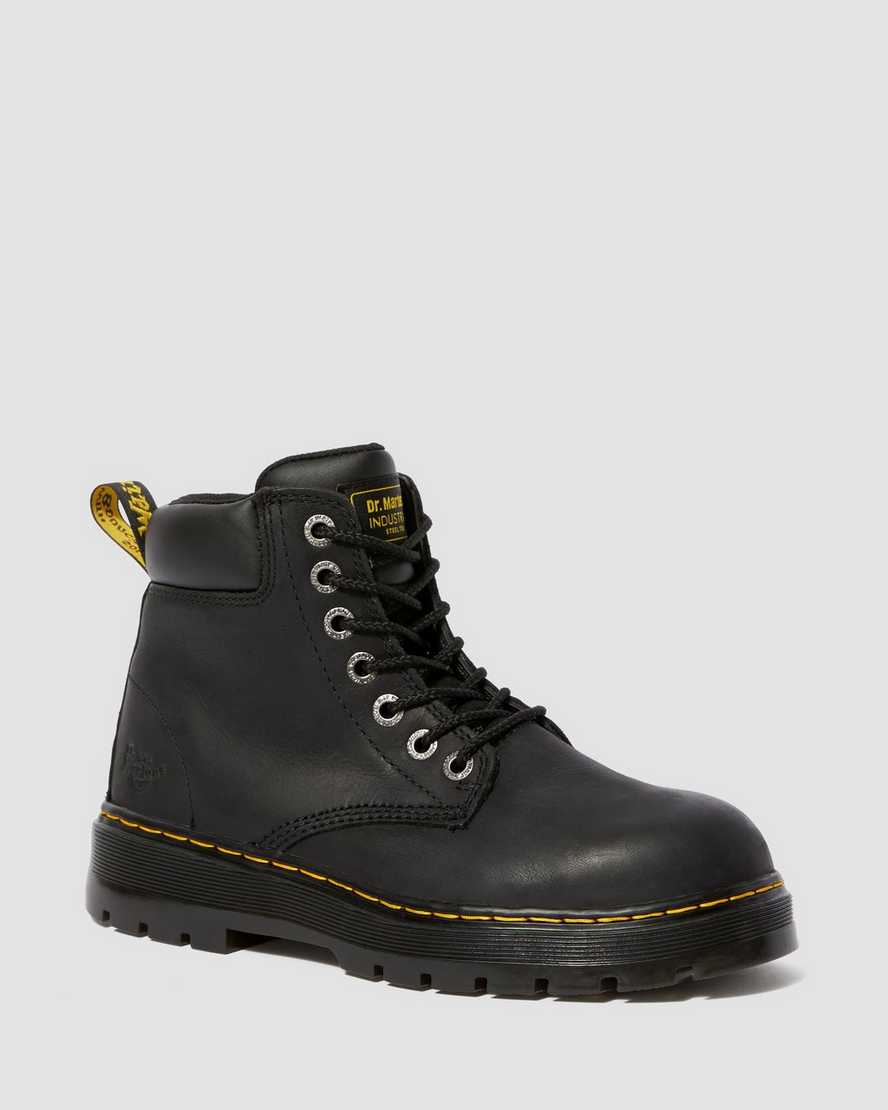 WINCH EXTRA WIDE WORK BOOTS   Dr Martens