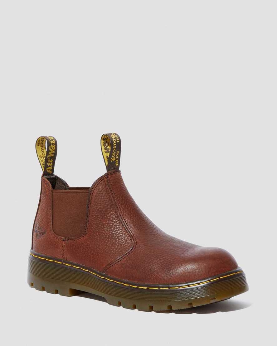 Rivet Steel Toe Chelsea Work Boots | Dr Martens
