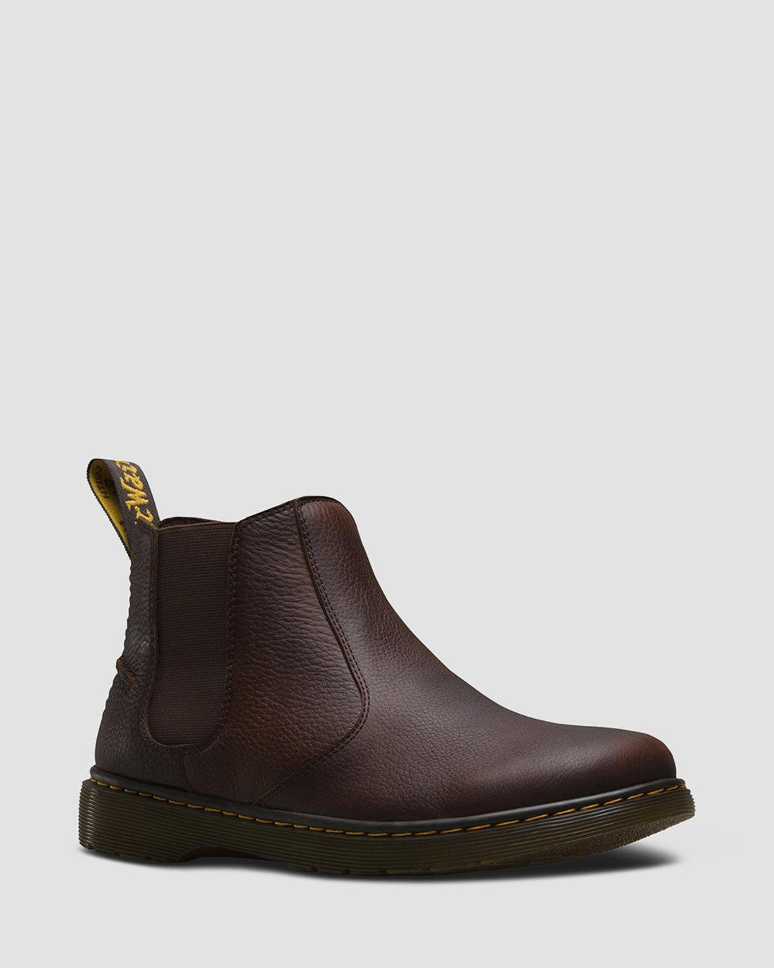 Mens Dr Martens DM Revive Lyme Black Grizzly Leather Chelsea Boots Size