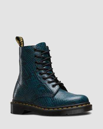 LAKE BLUE   Boots   Dr. Martens
