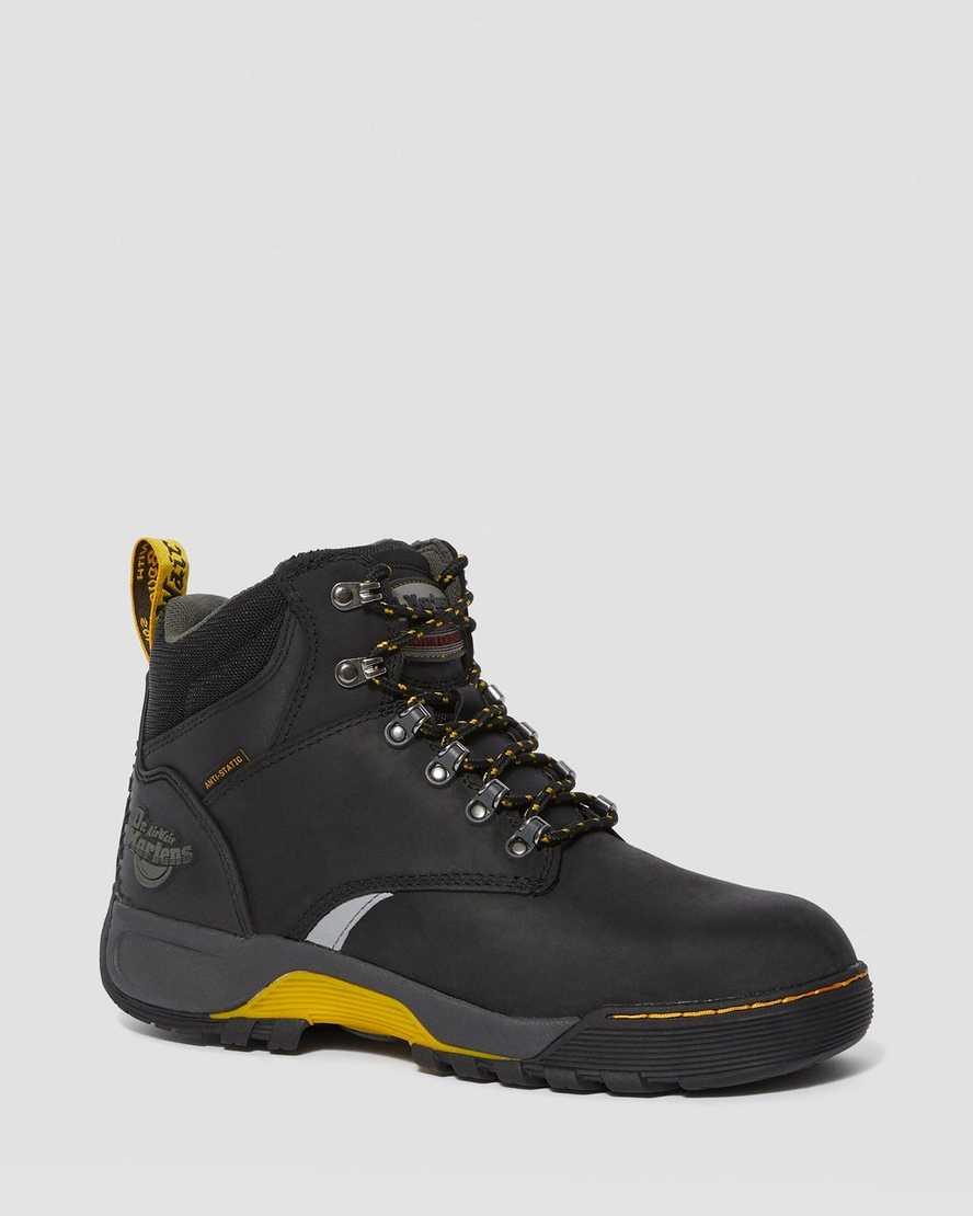 Dr Martens Unisex-Adult Ridge St St 6 Tie Boot