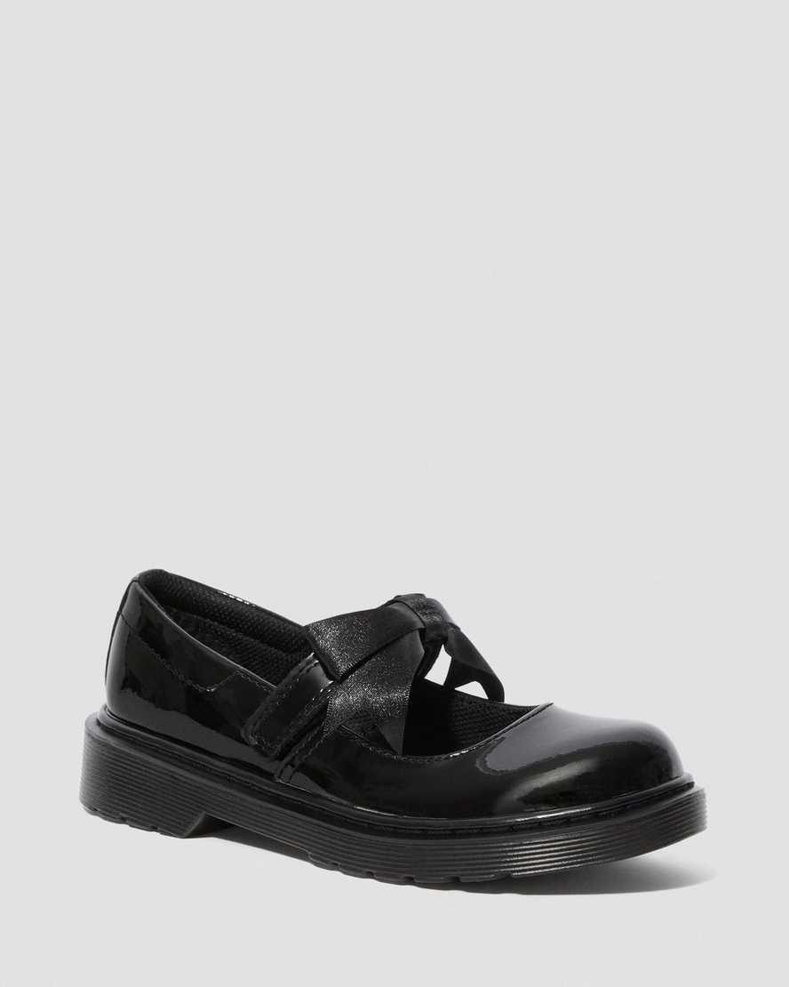 MACCY II JUNIOR PATENT LEATHER MARY JANES | Dr Martens