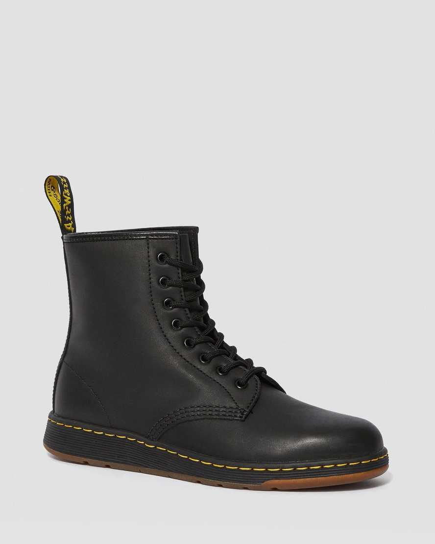 1460 NEWTON LEATHER ANKLE BOOTS | Dr Martens