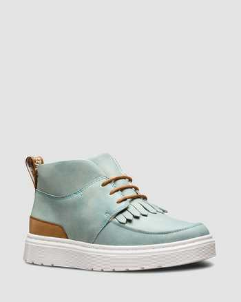 CORONET BLUE+TAN | Boots | Dr. Martens