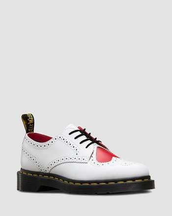 WHITE+HEART RED | Laarzen | Dr. Martens