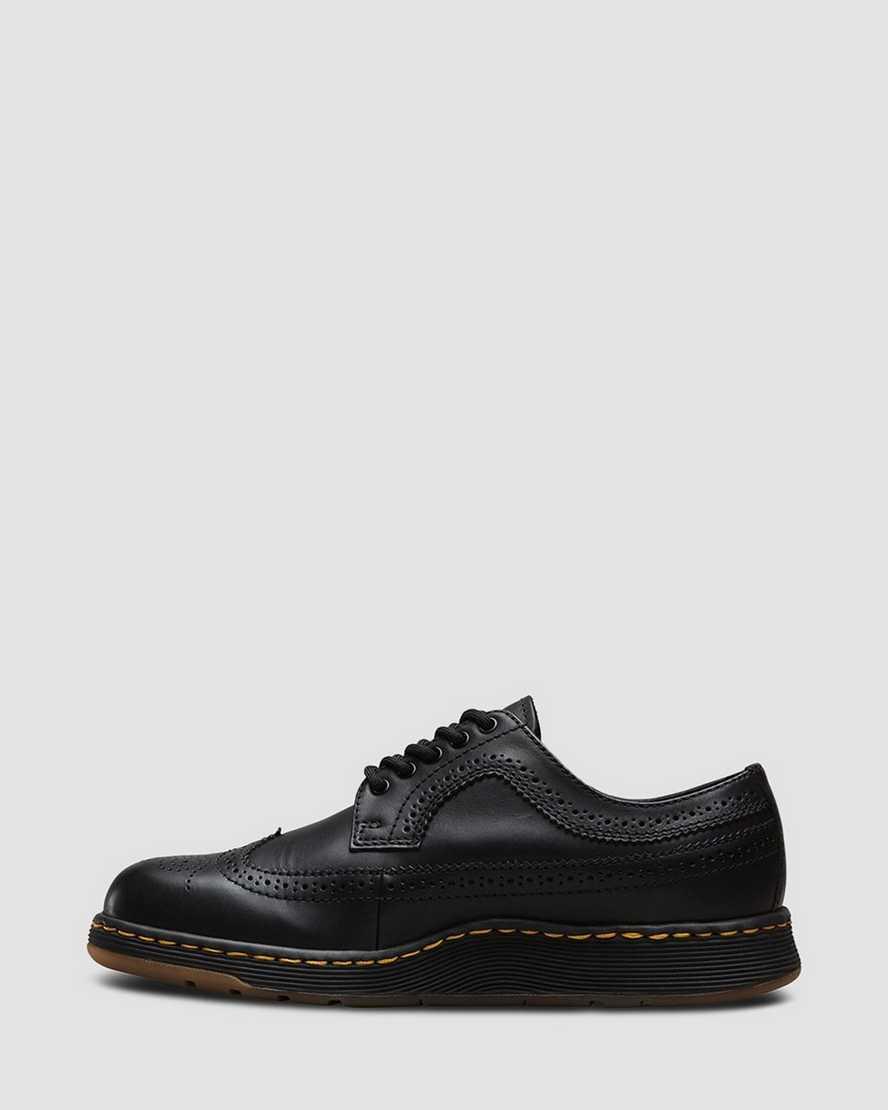 Dr.Martens Gabe Temperley 5 Eyelet Black Mens Shoes