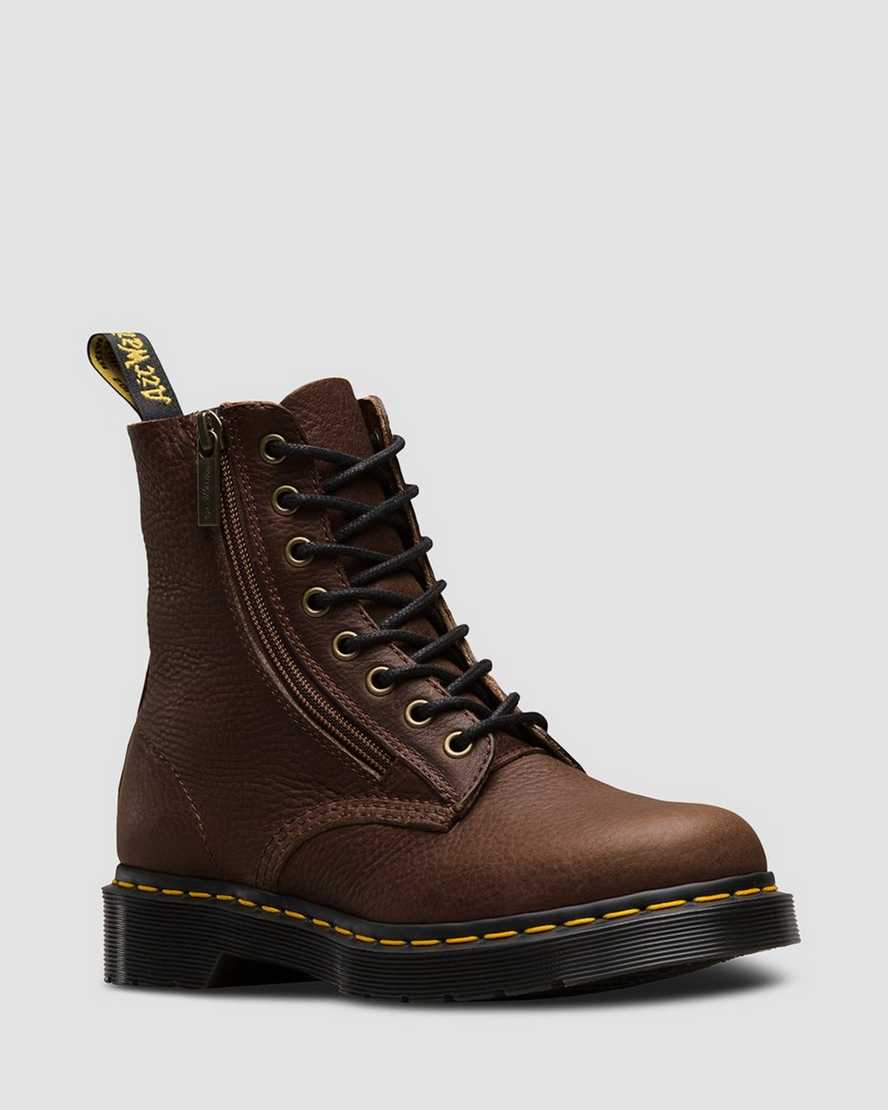 1460 PASCAL W/ZIP GRIZZLY | Dr Martens