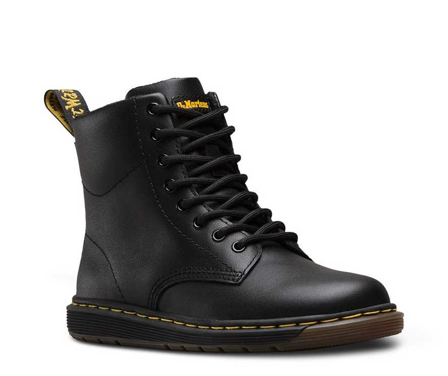 JUNIOR MALKY LEATHER | Dr Martens
