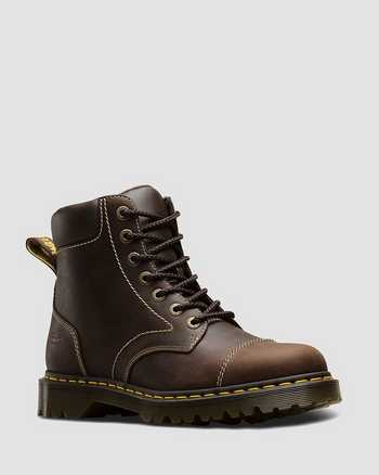 BROWN   Boots   Dr. Martens