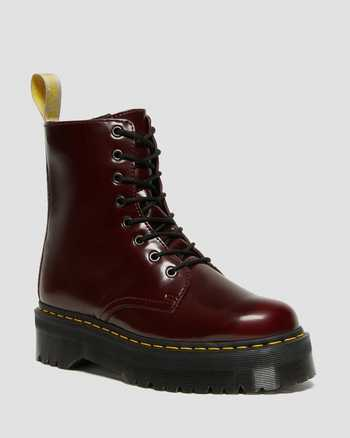 CHERRY RED   Boots   Dr. Martens