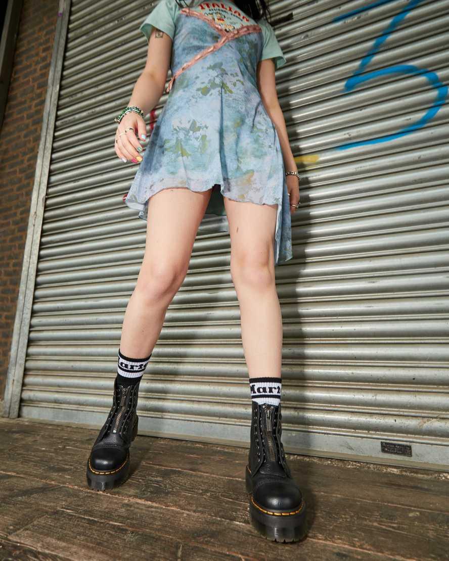 Arrotondare consonante giocare  Sinclair Platform Boots | Platform Sole | Official EU Dr Martens Store