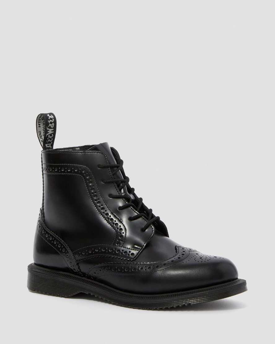 DELPHINE SMOOTH WOMEN'S DRESS BOOTS | Dr Martens