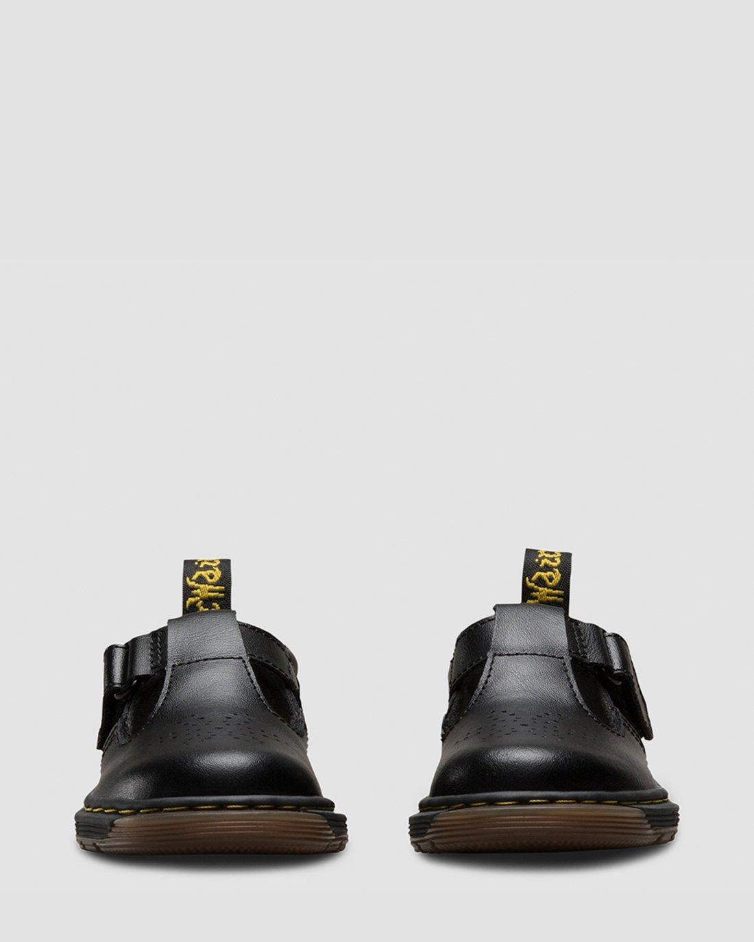 Dr Martens Dulice Toddlers Black School Shoes