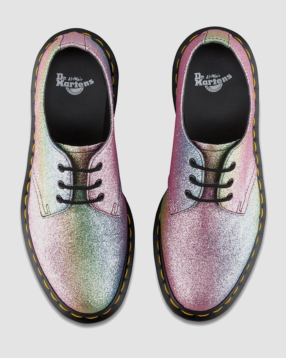 1461 Rainbow Glitter   Dr. Martens