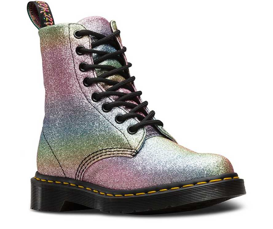 07ba93bcd 1460 PASCAL RAINBOW GLITTER | Women's Boots | Dr. Martens Official