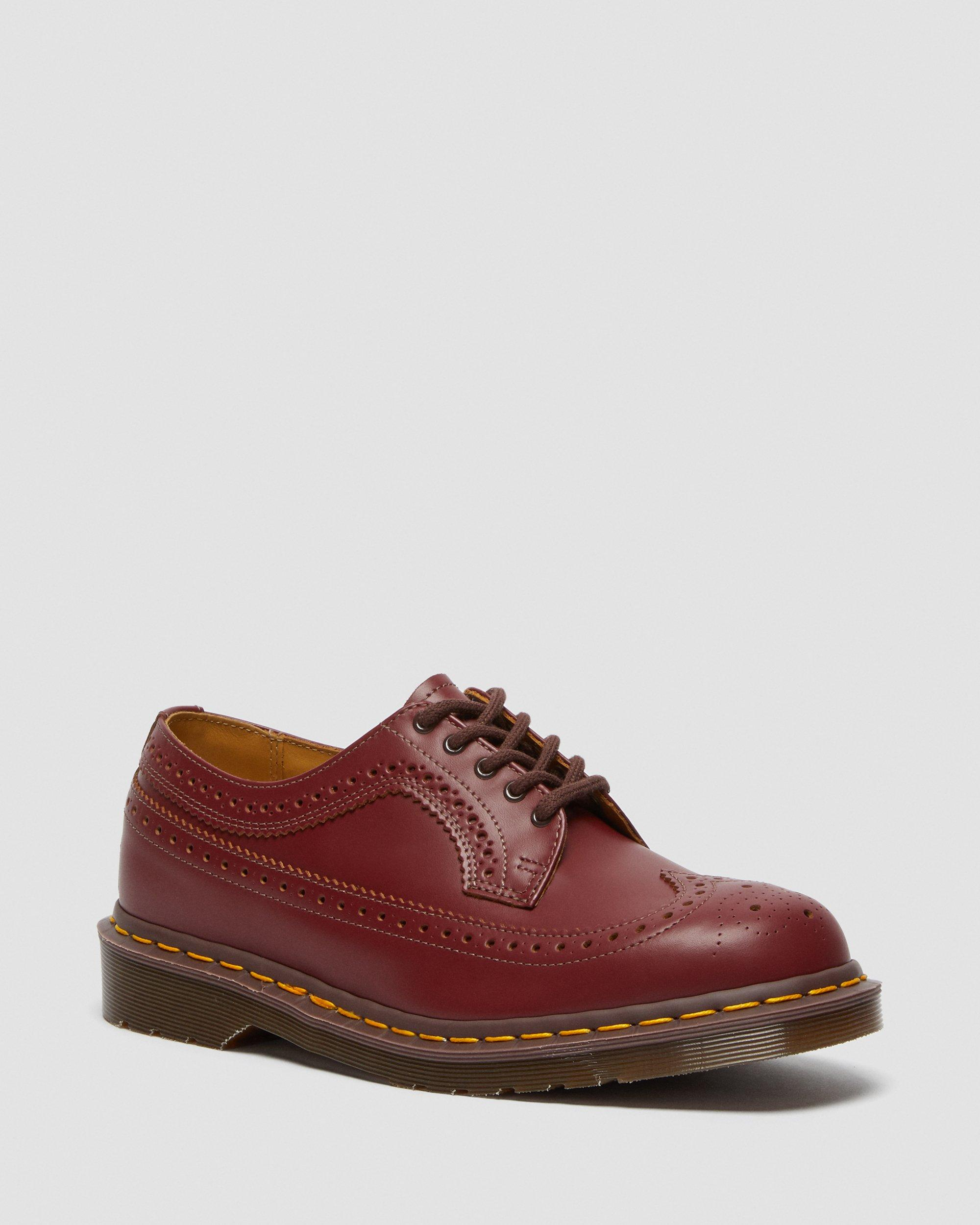 DR MARTENS 3989 VINTAGE MADE IN ENGLAND BROGUE SHOES