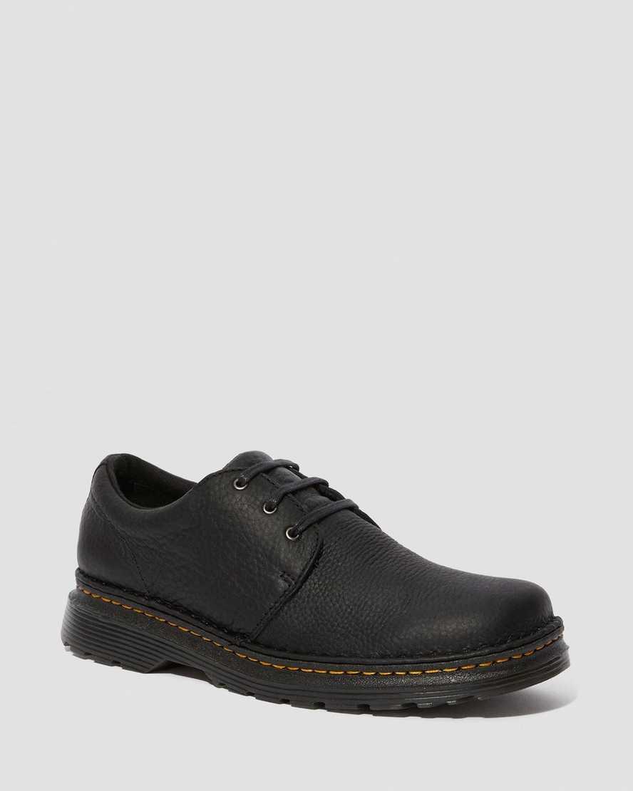 Hazeldon Men's Grizzly Leather Casual Shoes | Dr Martens