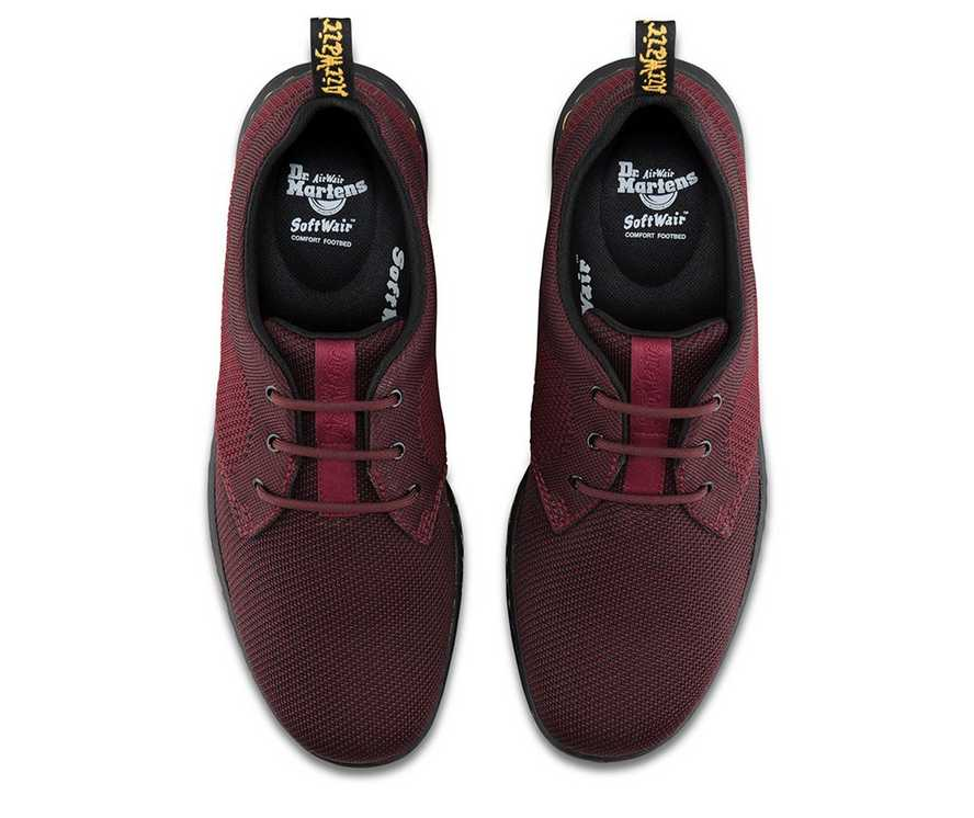75c88ac56bf CAVENDISH KNIT | Cherry Red | Dr. Martens Official Site