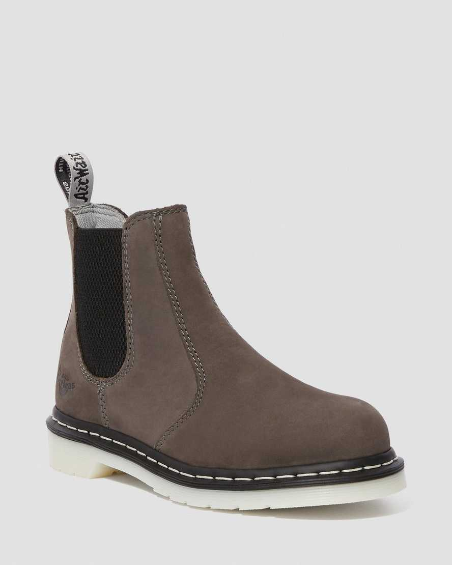 best prices good quality outlet boutique DR MARTENS WOMEN'S ARBOR STEEL TOE CHELSEA BOOTS