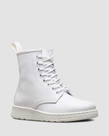 WHITE | Stiefel | Dr. Martens
