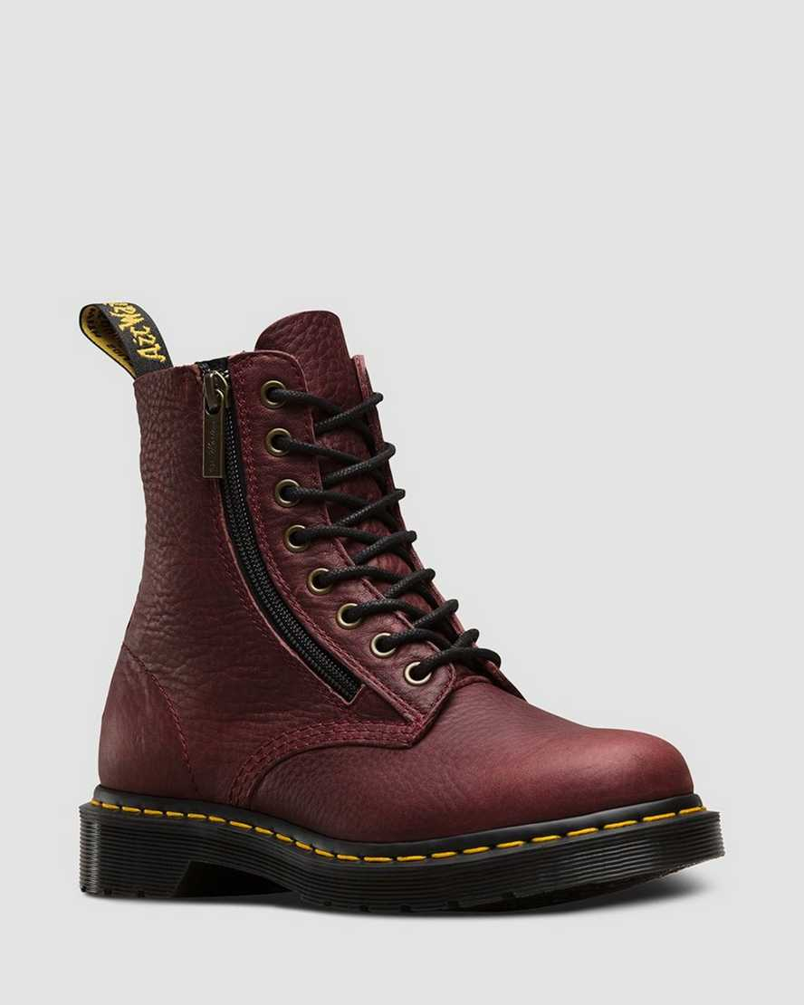 1460 PASCAL W/ZIP GRIZZLY   Dr Martens