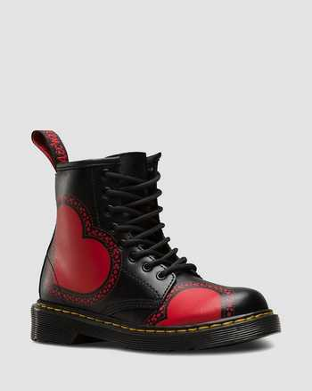 STRIPE RED+BLACK | Botas | Dr. Martens