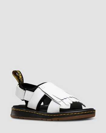 WHITE+BLACK | Sandals | Dr. Martens