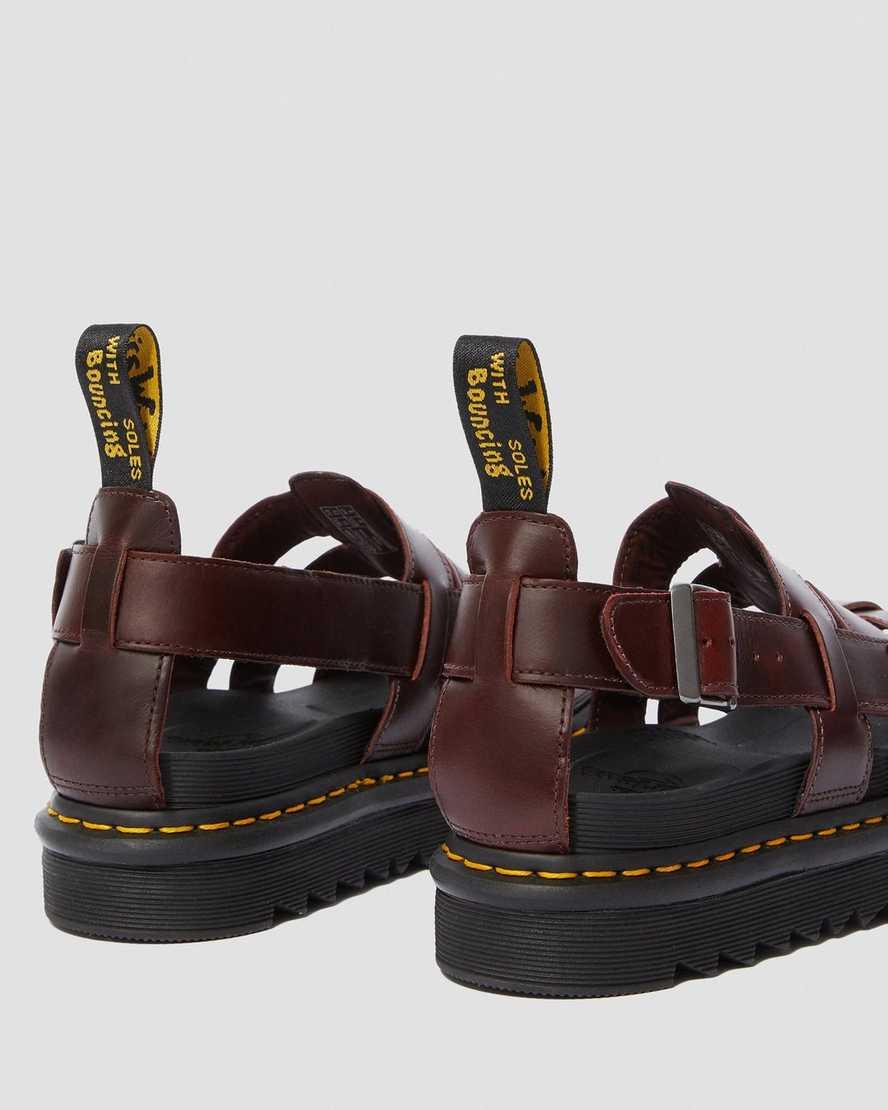 terry herren sandalen dr martens offizieller online shop. Black Bedroom Furniture Sets. Home Design Ideas