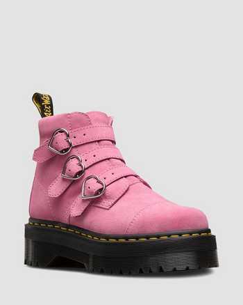 PINK   Boots   Dr. Martens
