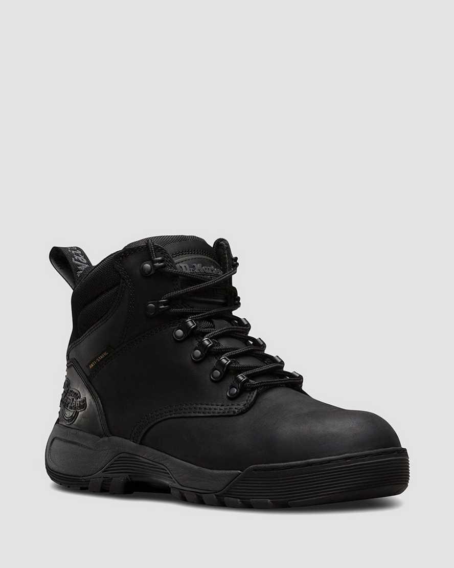 Ridge Anti Static Steel Toe Boots | Dr Martens