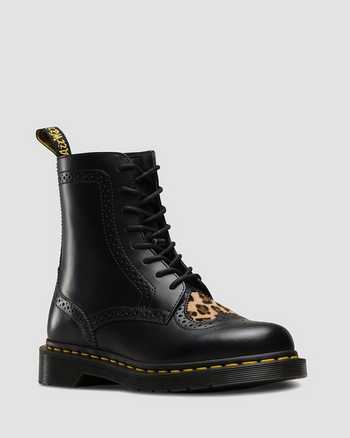 BLACK+MEDIUM LEOPARD | Botas | Dr. Martens