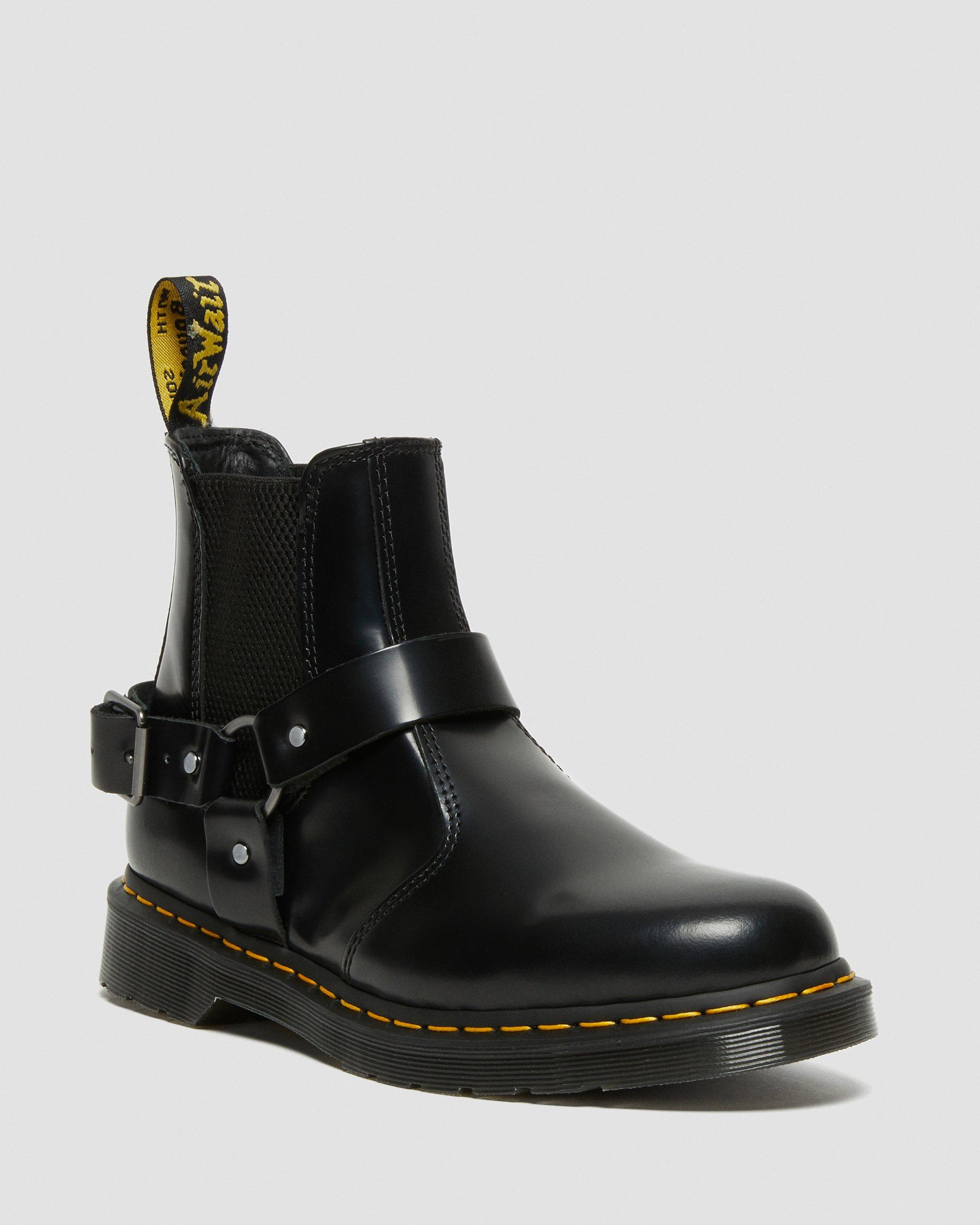 Dr Martens 2976 Bottines Chelsea Homme Rouge Chaussures