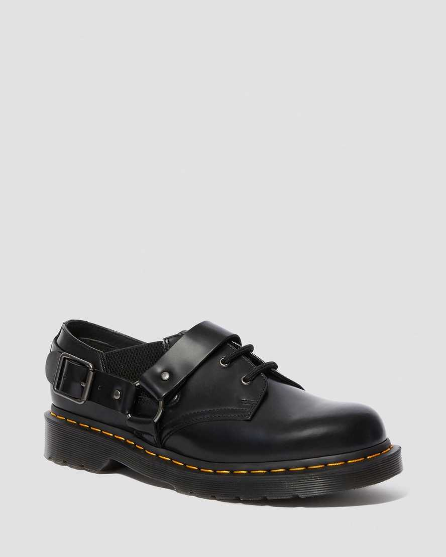 FULMAR SMOOTH LEATHER LACE UP SHOES | Dr Martens