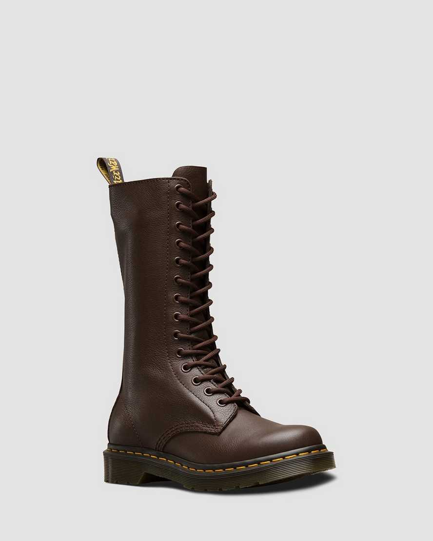 1B99 Virginia Leather Mid Calf Boots   Dr Martens