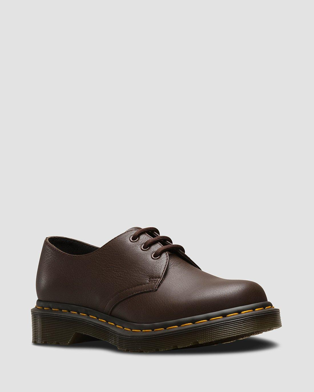 VIRGINIA LEATHER OXFORD SHOES | Dr. Martens