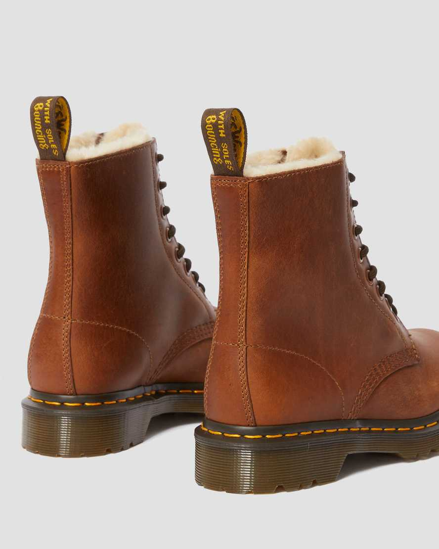 united states get online pretty cool DR MARTENS 1460 Serena Fur Lined
