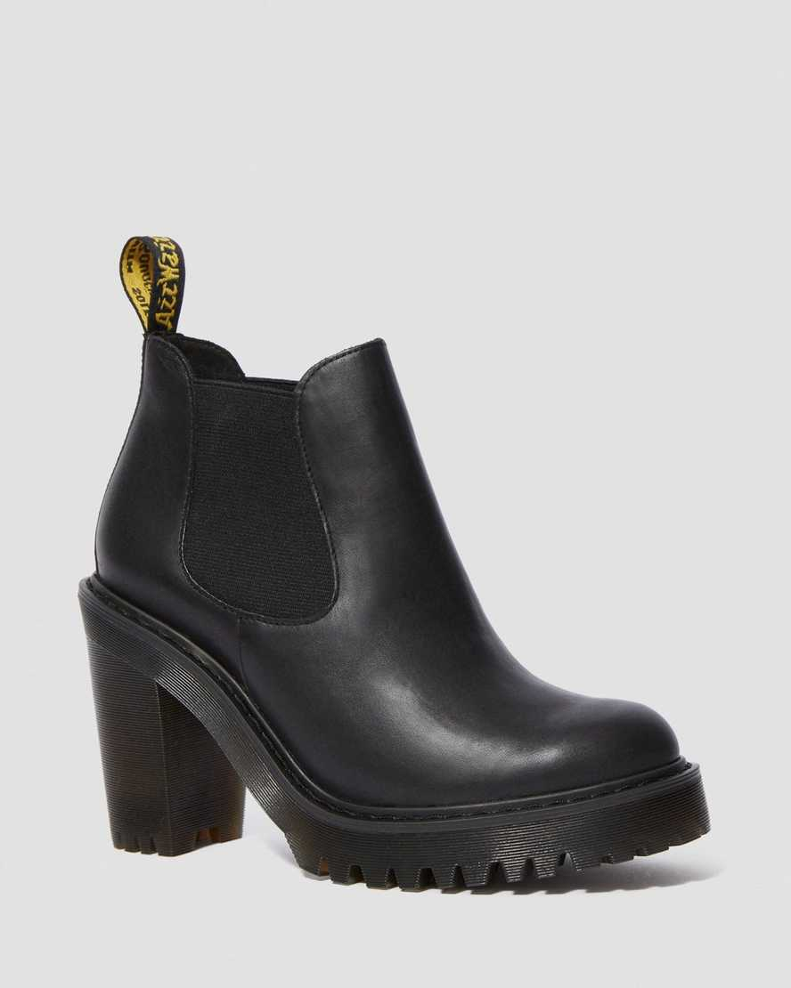 Hurston Leder Chelsea Boots | Dr Martens