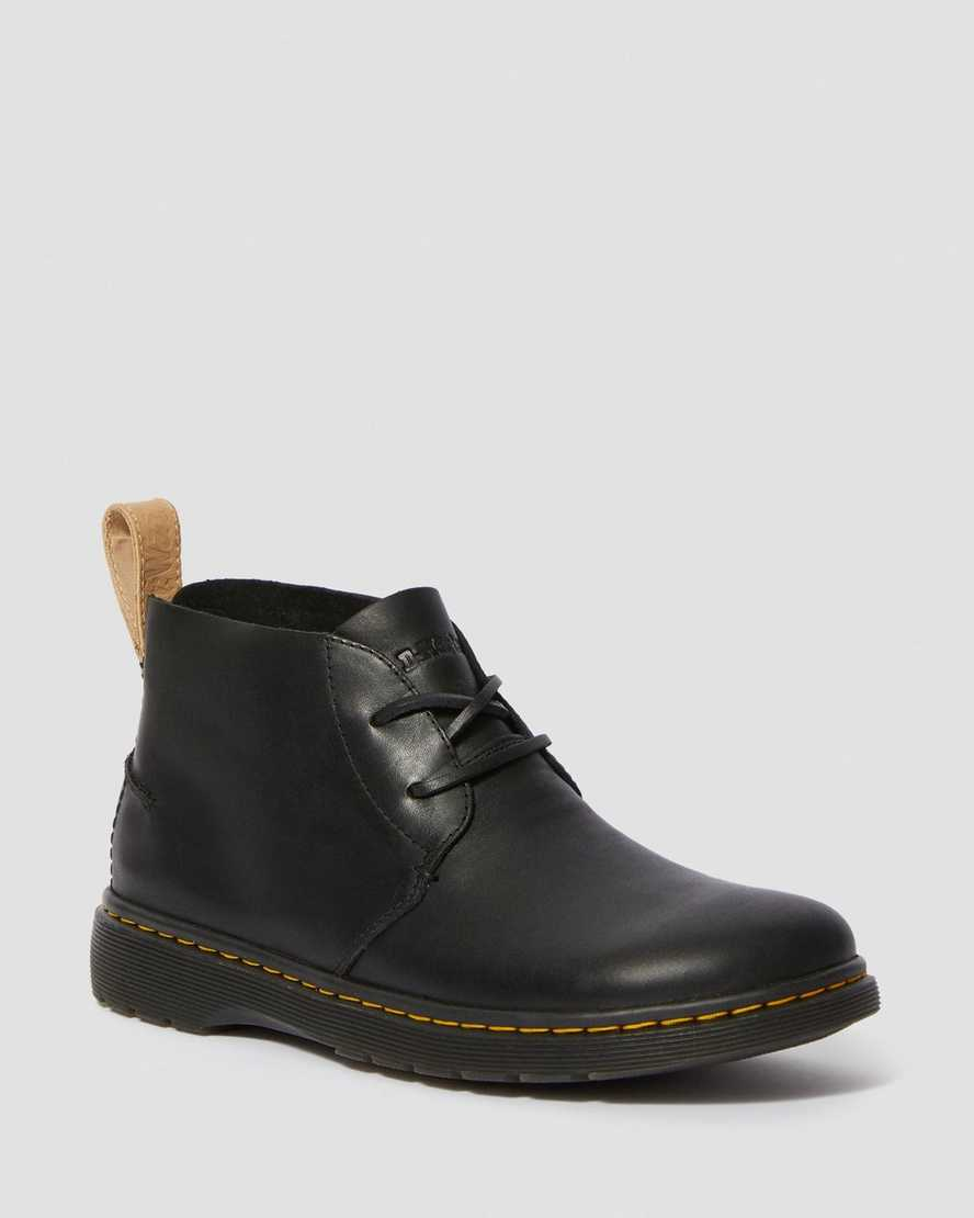 EMBER LEATHER CHUKKA BOOTS | Dr Martens