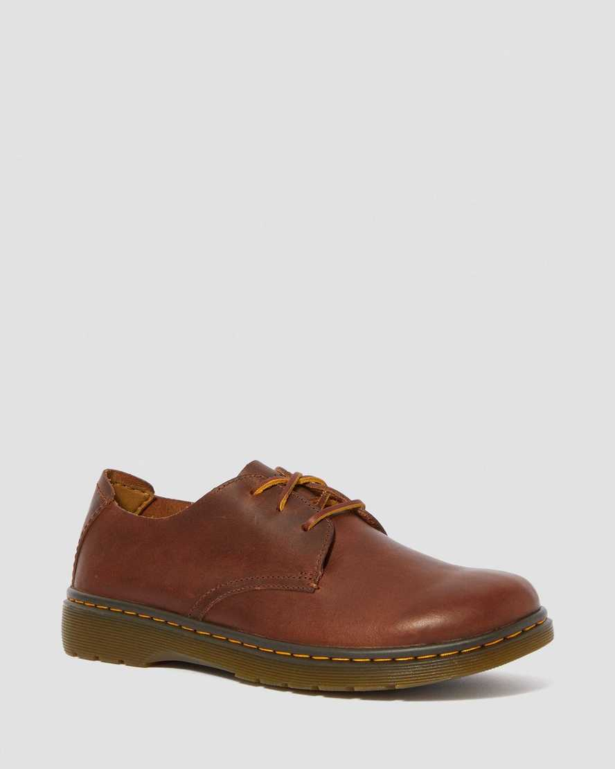 ELSFIELD LEATHER LACE UP 3-EYE SHOES | Dr Martens